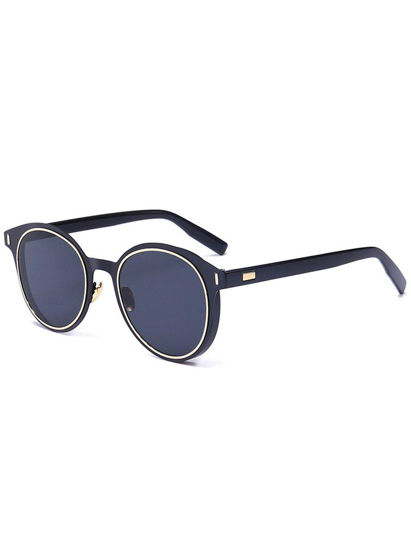 Round UV Protection Metal Frame Sunglasses round metal frame uv protection sunglasses with box