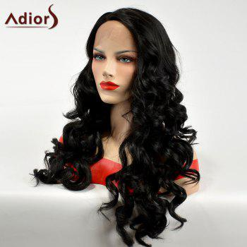 Adiors Long Lace Front Side Part Body Wave Synthetic Hair