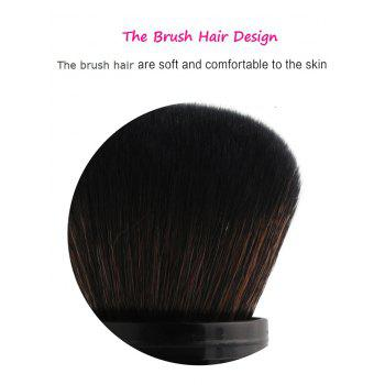 MAANGE Telescopic Fiber Blush Brush -  WHITE