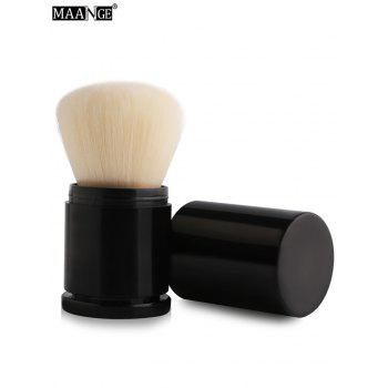 MAANGE Telescopic Fiber Blush Brush - WHITE WHITE
