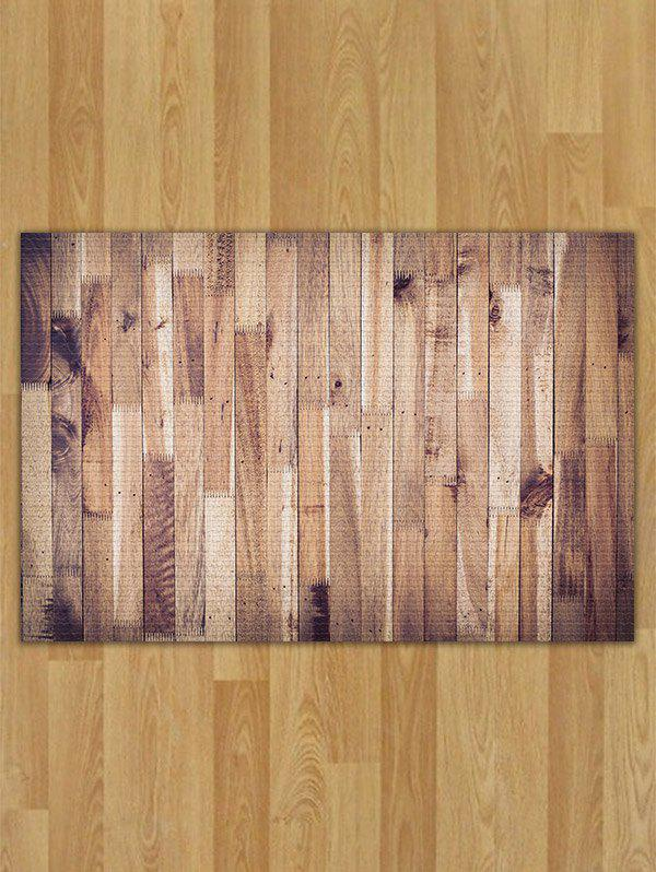 Skidproof Flannel Wood Pattern Area Rug forest pattern skidproof flannel rug