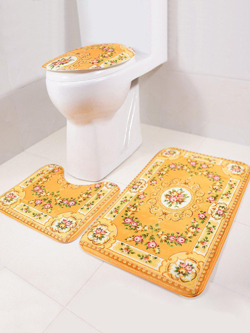 Europe 3Pcs Bath Floor Rug and Toilet Lid Mat Set high quality mb24kd 24kd mig mag welding torch european style 3m