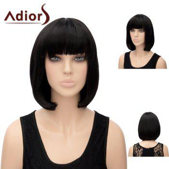Adiors Short Straight Bob Synthetic Hair
