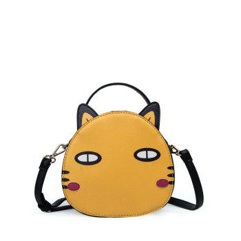 Zip Around Cat Shaped Crossbody Bag