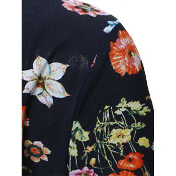 All Over Floral Print Hawaiian Shirt - S S