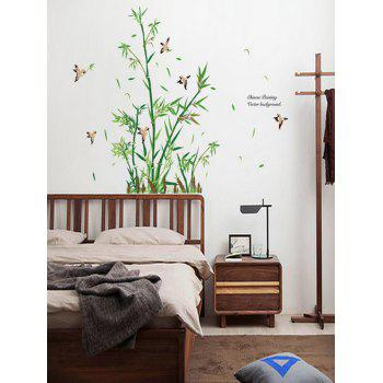 Bamboo Bird Quotes Wall Sticker