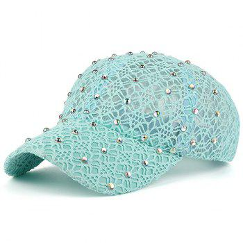 Lacework Hollow Out Mesh Hot Drilling Hat