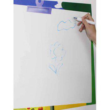 Graffiti Painting Ceative Teaching White Board Wall Decal with Pen