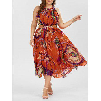 Floral Maxi Plus Size Summer Dress