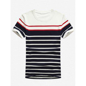Slim Fit Stretch Stripe T-Shirt