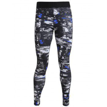 Print Ankle Length Sports Leggings