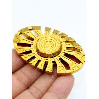 Cut Out Finger Gyro Spinner Sun God Focus Toy