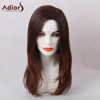 Adiors Long Side Part Natural Straight Synthetic Hair