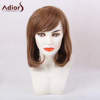 Adiors Short Bob Oblique Bang Tail Adduction Synthetic Hair