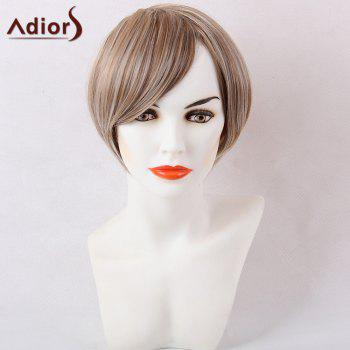 Adiors Straight Ultra Short Bob Color Mix Synthetic Hair