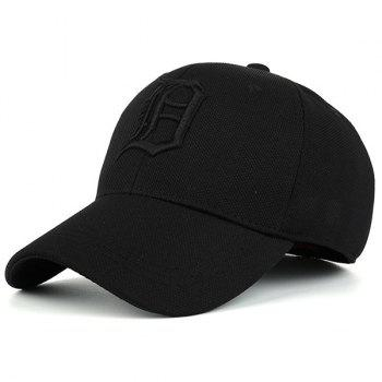 Letter Embroidered Gothic Baseball Hat