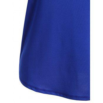 Sports Racerback Running Vest - Bleu XL