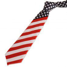US Flag Element Neck Tie