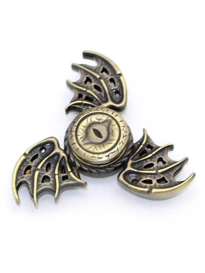 Focus Toy Dragon Wings Finger Gyro Spinner Stress Reliever - GOLDEN