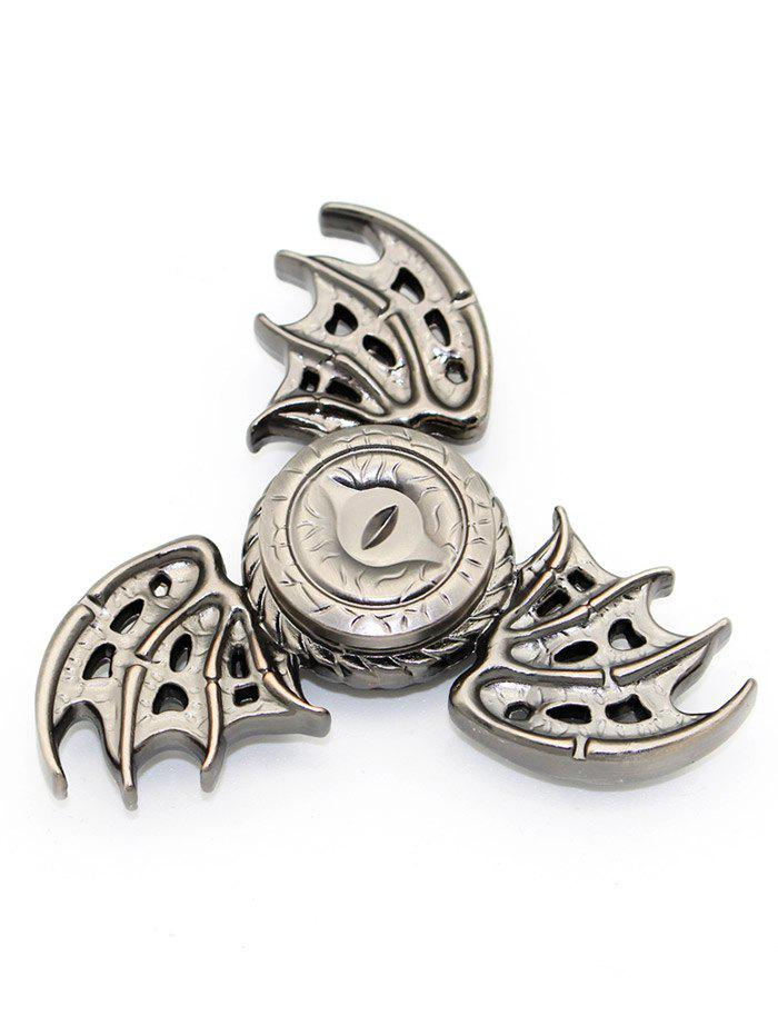 Focus Toy Dragon Wings Finger Gyro Spinner Stress Reliever - SILVER