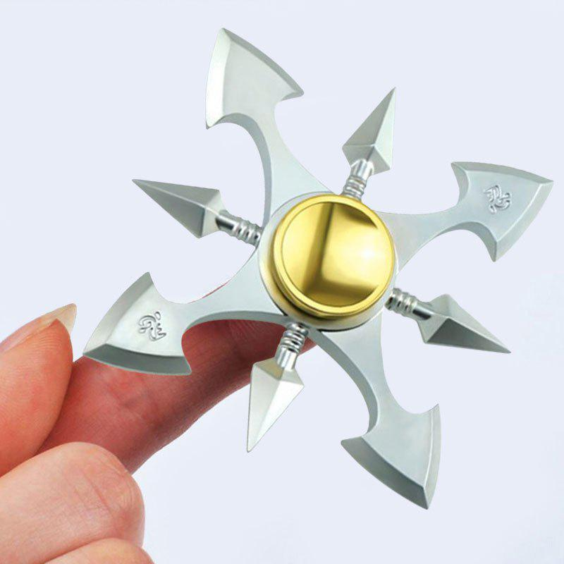 Fidget Metal Toy Stress Reducer Finger Gyro