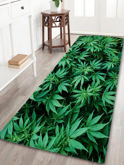 Greenery Absorption Coral Velvet Large Area Rug цена