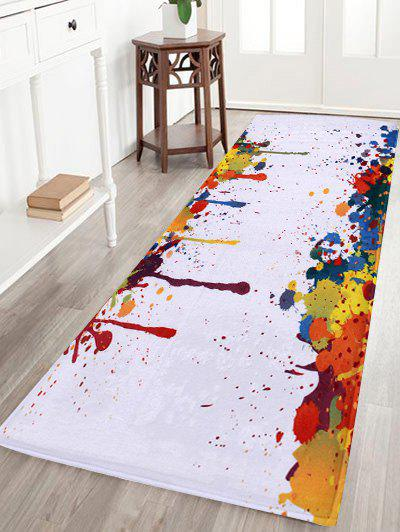 Antislip Splash-ink Coral Velvet Area Rug софтстартер abb 1sfa896106r7000
