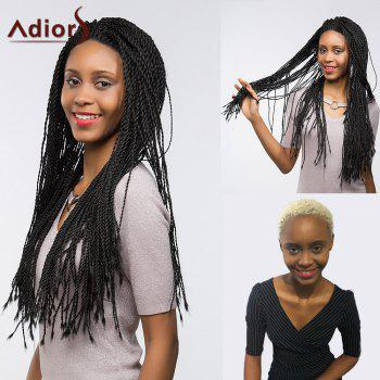 Adiors Long Senegal Twists Braids Lace Front Synthetic Wig