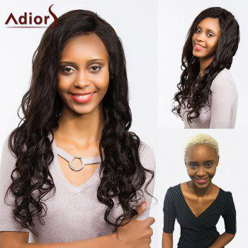 Adiors Dyeable Perm Long Wavy Free Part Lace Front Synthetic Wig