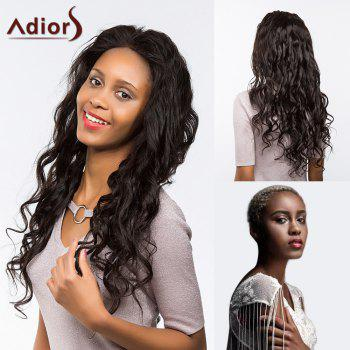 Adiors Dyeable Perm Free Part Long Curly Lace Front Synthetic Wig
