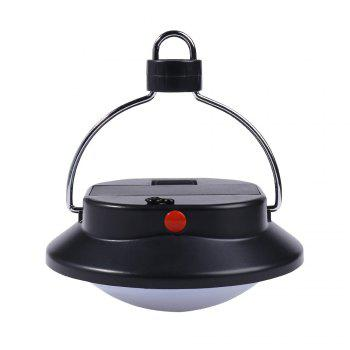 60 LED Hanging Up Camping Lamp -  BLACK