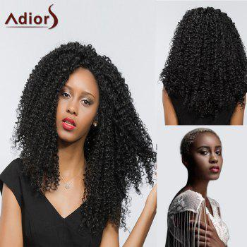 Adiors Lace Front Free Part Long Deep Curly Synthetic Hair