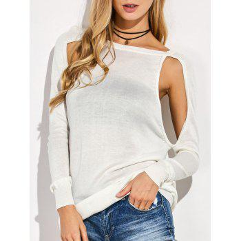 Cutout Sweater
