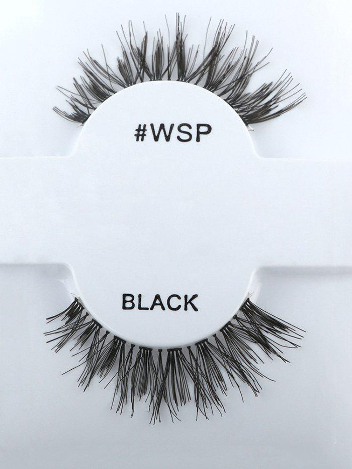 Long Thick Extensions Crisscross False Lashes - BLACK