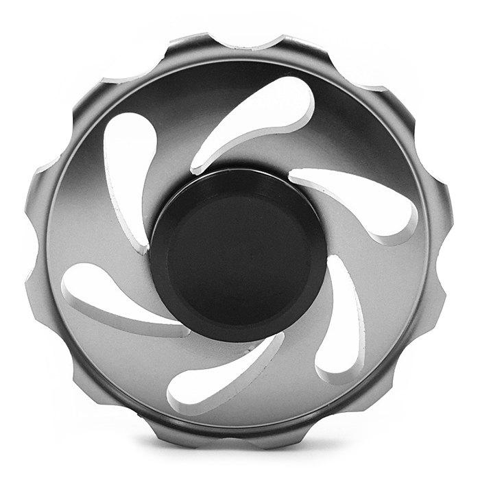 Stress Relief Toy Wheel Finger Spinner - Gris