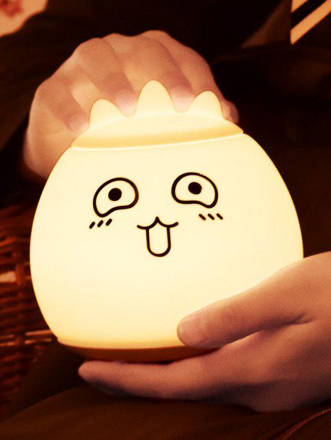 Cartoon Color Change LED Night Light - WHITE 12.5*12.5*12.5CM
