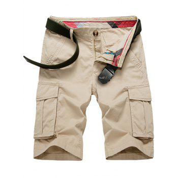 Flap Pockets Cargo Shorts