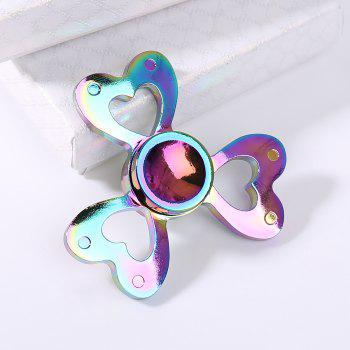 Colorful Clover Shaped Time Killer Finger Gyro - COLORFUL 6*6CM