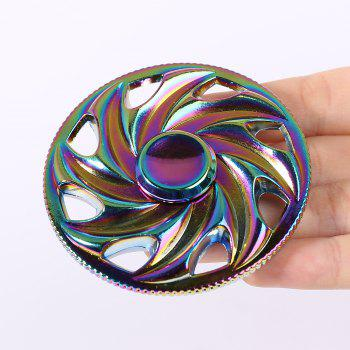 Colorful Wheel Shaped Spinning Toy Finger Gyro