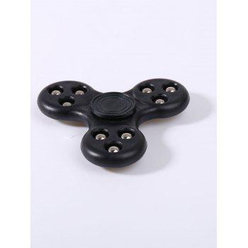 Stress Relief Jouets à doigts 9 Perles Finger Gyro Spinner - Noir