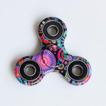 Hand Spinner Style Bohémien - Rouge