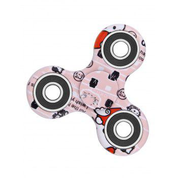 Camouflage Print Stress Relief Focus Toys Fidget Spinner