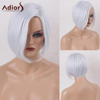 Adiors Side Parting Short Straight Bob Synthetic Wig