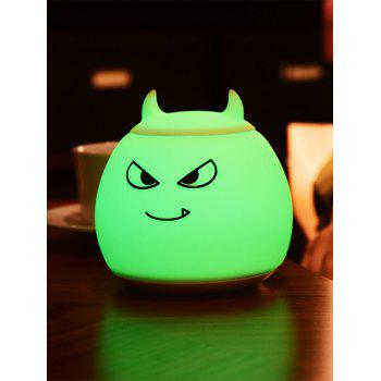 Color Change LED Cartoon Night Light - WHITE 12.5*12.5*12.5