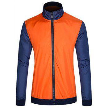 Sun Protective Color Block Jacket