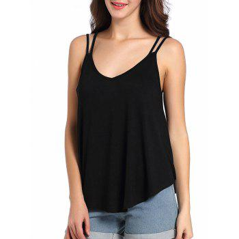 Loose Fit Cutout Cami Tank Top