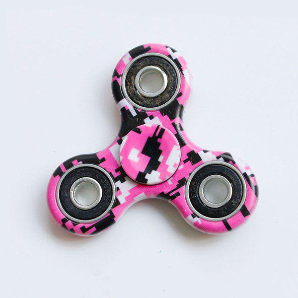 Hand Spinner Motif Graphique - rose