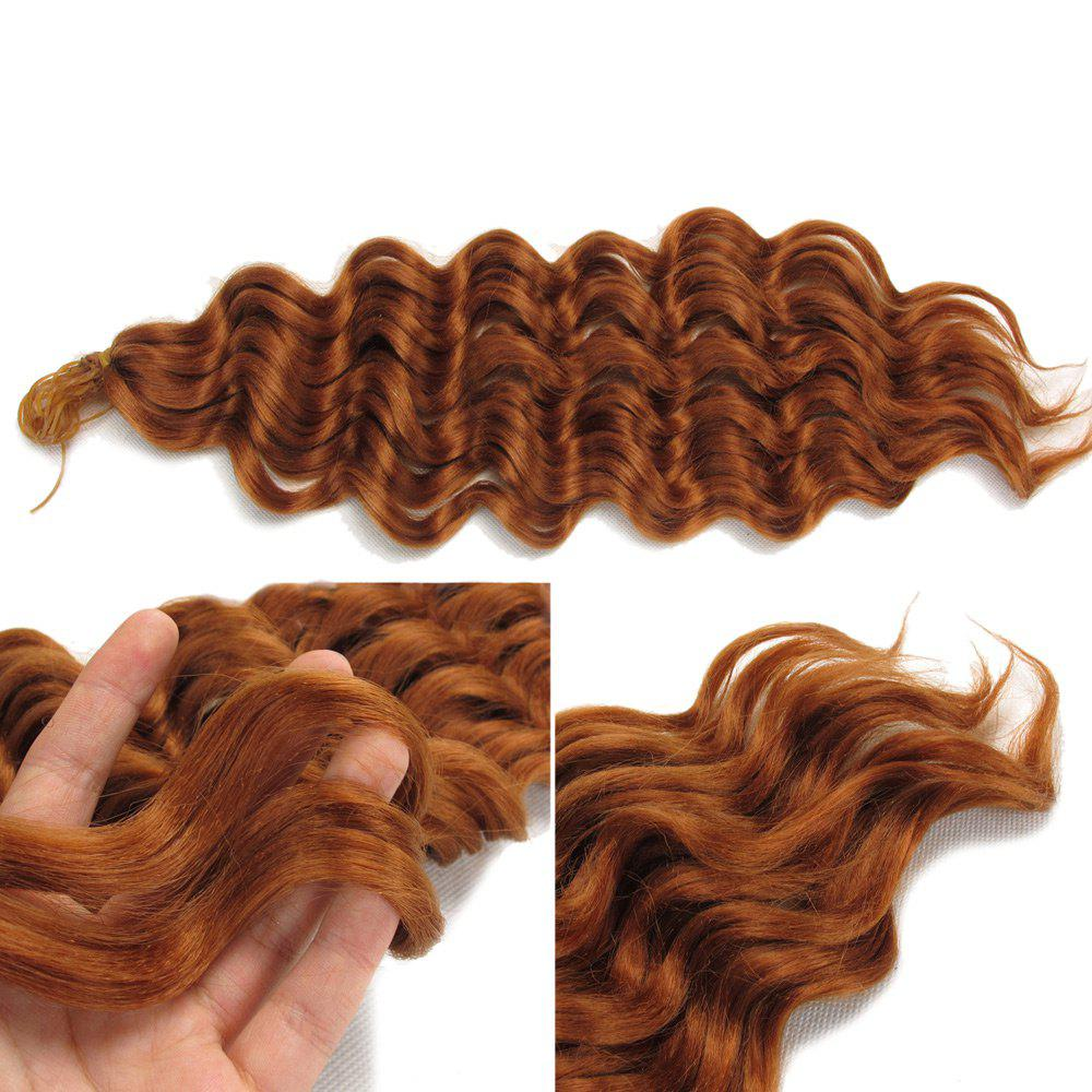 Pre Loop Wand Curl Crochet Hair Extension - LIGHT BROWN
