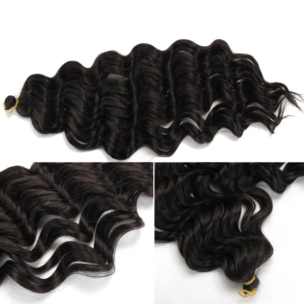 Pré Loop Wand Curl Crochet Hair Extension - Noir