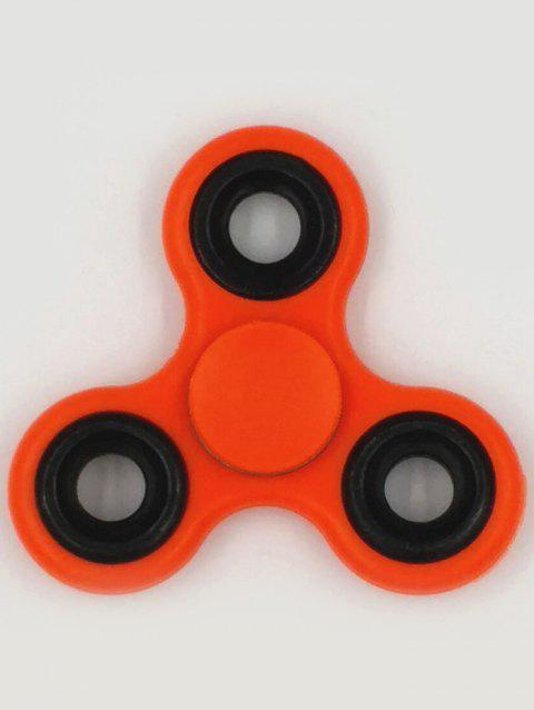 Fiddle Toys Triangle Gyro Fidget Spinner - RED